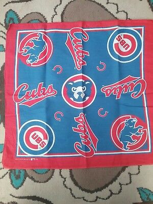 Chicago Cubs Vintage Bandana 1995 Mlb Baseball