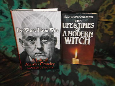 Look! Bulk - Witch Craft/ Wiccan/ Pagan/ Esoteric/ Spiritual Book Lot - W01