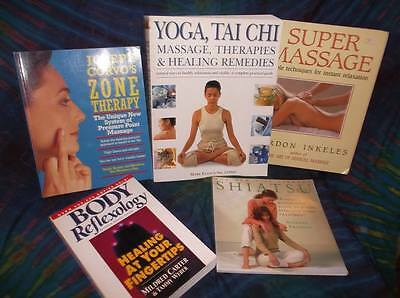 "Look!bulk New Age/ Esoteric/ Spiritual/ Metaphysical Book Lot "" Massage"" Lot#55"