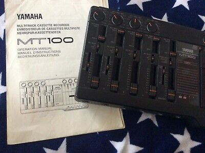 Yamaha Multitrack Cassette Recorder - MT100