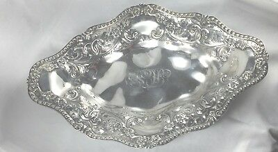 """Fabulous Floral Bailey Banks & Biddle 14 1/2"""" Bread Tray"""