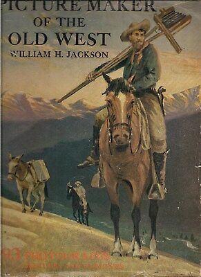 393 PHOTOS, SKETCHES & PAINTINGS ~ WILLIAM H JACKSON, PICTURE MAKER of WEST 1947