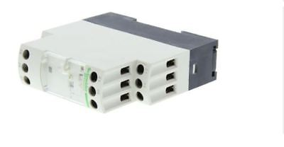 Schneider OFF Delay Relay, 0.05s - 10 min, DPDT, 24-240 Vac/dc RE7RB13MW