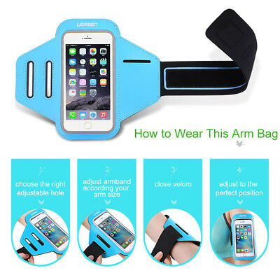 Ugreen Sport Arm band Case for iPhone 6 6s 5 Waterproof