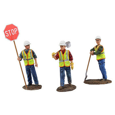 90-0480 1st First Gear Metal Construction Workers Figures Diecast 1:50 New Boxed