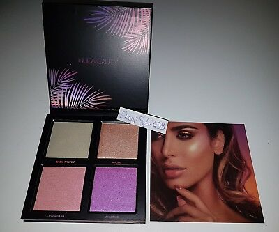 Huda Beauty Summer Highlighter Palette Limited Edition Must Have Blogger Lila