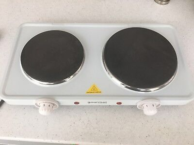 Gourmet Double Electric Hotplate- Used Twice!