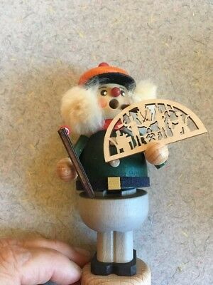 Kaden & Straco German Incense Smoker 5 ½ Cigar Fan Saw Russian