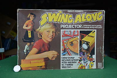Dennis Fisher Swing Along Play Projector In Original Box