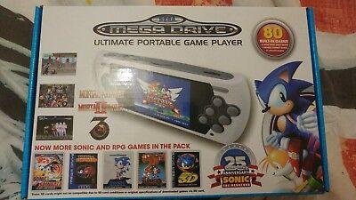 Ultimate portable game player - portable Mega Drive