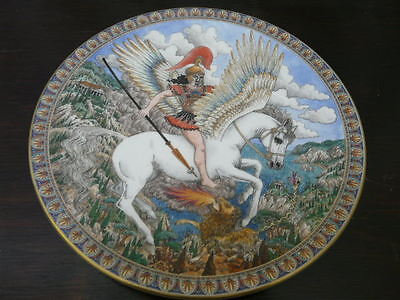 Royal Worcester Myths And Legends Series Plate - Pegasus