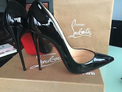 Black Christian Louboutin High Heels size 7