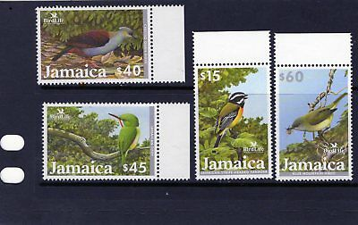 JAMAICA 2003 set of Birds $15 - $60 Mtd MINT