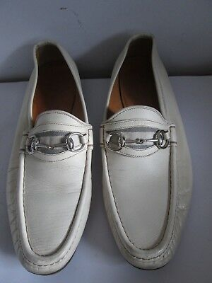 Light Cream / Gucci Shoes loafers UK 10 -  Leather (No Box)