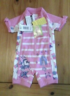 Baby girls 3-6 months swimming costume, disney, minnie mouse
