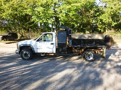 2002 Chevrolet 3500 1 Ton Diesel Dump ONE OWNER LOW MILES NO RESERVE
