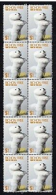 Bichon Frise Year Of The Dog Strip Of 10 Mint Stamps 3
