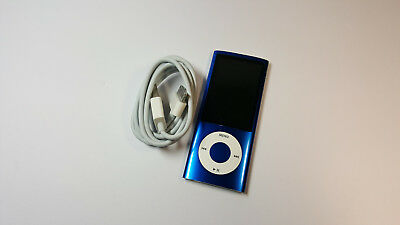 Apple iPod Nano 5th Generation Blue (16GB), FULLY WORKING