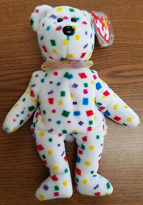 Ty The Beanie Babies Collection Ty 2K Bear Retired Rare 2000 - New