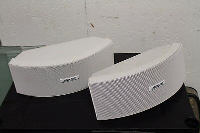 Bose 151 SE Outdoor Speakers (White) with Mounts and Hardware (nl)