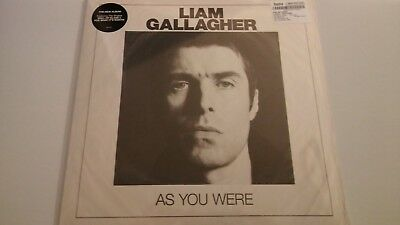 """Liam Gallagher - As You Were - Special Edition 12"""" White Vinyl Lp Sealed"""