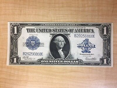 Fr 238 1923 $1 Silver Certificate  Unc  No Reserve