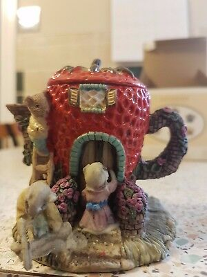 collectible ACADEMY Miniature Teapot House in box