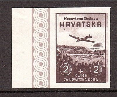 CROATIA WWII Wings variety from Ministerial Book 1942        (# 01)