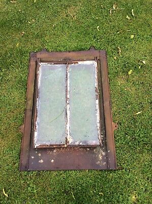 Conservation Victorian, Cast Iron Roof Light, Window, Good solid condition,