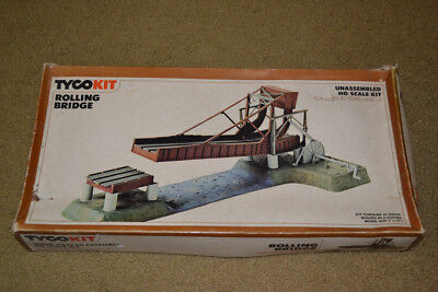 Tyco HO 7792 Rolling Bridge Kit! Unbuilt! Drawbridge Lift Bridge