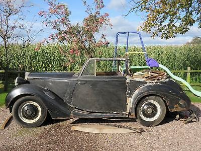 1939/1940 Sunbeam Talbot 10 DHC drophead coupe / 4-seat tourer for restoration
