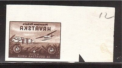 CROATIA WWII Wings negative proof from Ministerial Book 1942  (# 12)