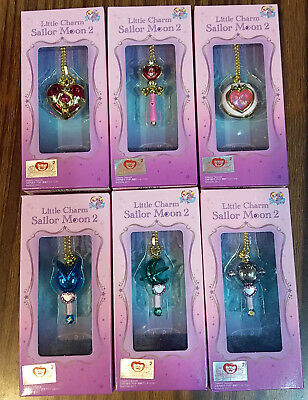 Bandai Sailor Moon Little Charm Stick Compact Rod Usagichan Vol.2 - Set of 6