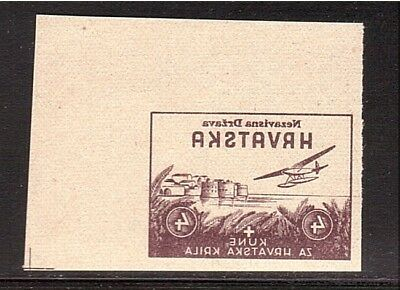 CROATIA WWII Wings negative proof from Ministerial Book 1942  (# 11)