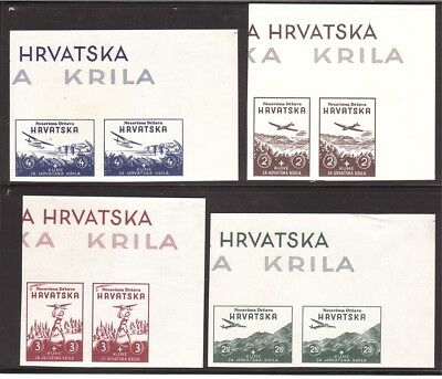 CROATIA WWII Wings proof from Ministerial Book 1942        (# 06)