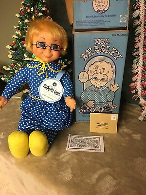 Mrs Beasley Doll An Original 1967' talker. Clean & Talks.