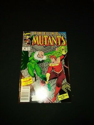 The New Mutants #86 (Feb 1990, Marvel) Cable cameo