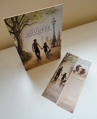 Goodbye Christopher Robin (2017) Promotional Set, 1x Standee + 2x Bookmarks