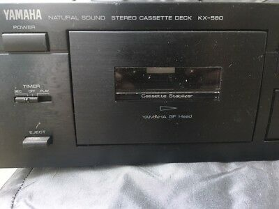 Yamaha KX-580 haut de gamme cassette audio Recorder/Player Special Edition