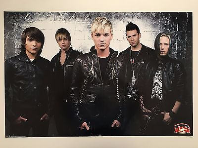 US5 MUSIC BAND, AUTHENTIC 2000's POSTER