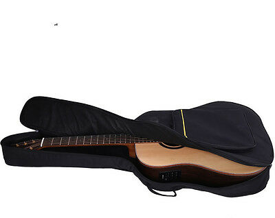 "Up to 41"" Padded Acoustic Guitar Soft Case w/ Double Straps   Gig Bag - NIP"
