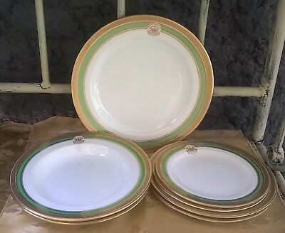 Antique Canada Speaker of House of Commons Fine China Dinner Ware