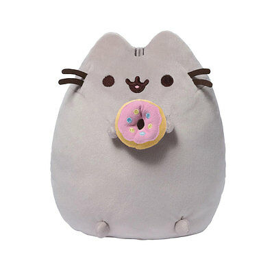 Pusheen The Cat - Pusheen With Donut Plush Soft Toy - *BRAND NEW* 15cm/6inch