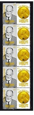 Rene Cassin Nobel Peace Prize Strip Of 10 Stamps 5