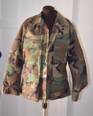 US Army Camouflage Jacket Parka Lined Military Nato Issue Size X Small
