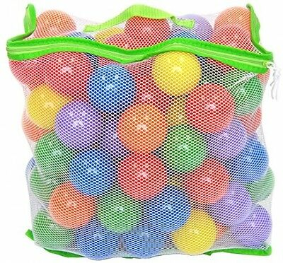 100 Wonder Playball Non-Toxic Crush Proof Quality Balls W/ Mesh Tote game toy