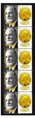 Rene Cassin Nobel Peace Prize Strip Of 10 Stamps 1