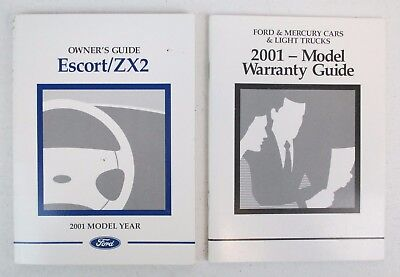 2001 original ford escort zx2 owners manual service guide book 01 rh picclick com 2001 Ford ZX2 Problems Explorer Sport Trac 2005 Ford FX4