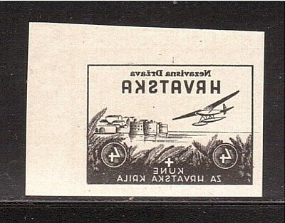 CROATIA WWII Wings negative proof from Ministerial Book 1942  (# 08)