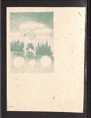 CROATIA WWII Wings negative proof from Ministerial Book 1942  (# 13)